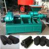기계를 만드는 빈 실린더 사각 육각형 모양 연탄 목탄 석탄 연탄