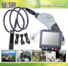 Witson Endoscope Borescope Snake Inspection Camera con Detachable Monitor, DVR, 8.0mm HD Camera