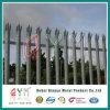 鋼線の柵の塀または庭の柵の囲うか、または電流を通された鋼鉄柵の塀