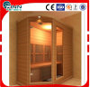 Salle de sauna de luxe infrarouge lointain de 4 personnes