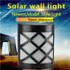 Più nuovo indicatore luminoso solare della parete del giardino dei 6 LED