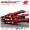reboque de Lowboy do recipiente do reboque do caminhão de 40FT Fuwa/BPW 3axle