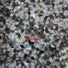 Le nuove mattonelle di mosaico di Shell del mare di stile, senza giunte uniscono le mattonelle di mosaici naturali della parete di Backsplash della cucina di colore di Shell, il Rhombus superbo (MOP-AO22)