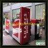 Escaparate de la exhibición del quiosco de la ceja de la alta calidad/tabla cosméticos de la manicura (N20002)