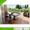 Furniture ao ar livre Rattan Dining Table e Chairs