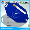 Étiquette de déplacement de bagage de PVC d'étiquette molle de bagage