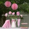 12  Wedding Decoration를 위한 당 Favor Pink Honeycomb Balls