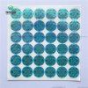 Het in het groot Nieuwe Document van het Embleem van de Douane Stlye om Glanzende Stickers