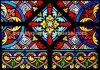普及したステンドグラス教会Windowsの芸術のモザイク模様をカスタム設計しなさい