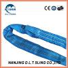 Fabbrica rotonda dell'imbracatura della tessitura dell'imbracatura di Liftinfg del poliestere da 8 tonnellate