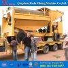 Macchinario della strumentazione di estrazione dell'oro di China Mobile 100tph