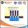 HRC60 estándar de carburo de molinos de extremo cuadrado