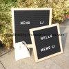 Переменчивая доска письма войлока с пластичными письмами и различными стойками