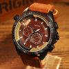 Leuchtende Mann-Sport-Uhr-eindeutige der Entwurf der Form-H334 imprägniern Uhr für Männer