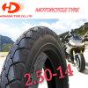Oberstes chinesisches Motorrad zerteilt Motorrad-Gummireifen 2.50-14 2.74-14