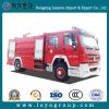 Sinotruk HOWO 4X2 8000 리터 화재 싸움 트럭