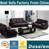 Sofa moderne en gros de cuir véritable de salle de séjour d'usine (B. 939)