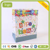 Bolsa de compras de papel recubierto, bolsa de regalo de cumpleaños para niños