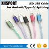 다채로운 가장 새로운 비용을 부과 마이크로 USB Sync 데이터 케이블