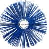 Le fil de la neige en PP bleu brosse ronde (YY-742)