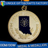 カスタムスポーツの記念品リボンが付いている連続した亜鉛合金のエナメルメダル
