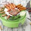 Kooktoestel van de Barbecue van het Vlees van het hoge Tarief het Multifunctionele met het Systeem van de Isolatie van de Hitte