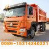 Autocarro con cassone ribaltabile utilizzato HOWO centrale dell'elevatore di migliore circostanza con 10 rotelle con la vendita calda di prezzi competitivi al servizio dell'Africa