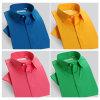 2016 Nuevo Modelo de varios colores camisa de vestir de algodón 100% de los hombres