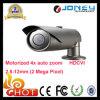 Камера H. 264 профессиональная полная HD ночного видения водоустойчивые IP66 HD1080p HD Cvi ультракрасные