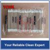 Tampon de coton industriel de Cleanroom de mini de double dièse de fin tige de Huby