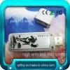 Weißes Zigaretten-Feuerzeug USB-grelle Platte