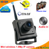 Wireless 1.0 Megapixel P2p Miniature Network IP Web Camera