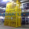 Il Ce ha approvato l'elevatore verticale del carico del magazzino con l'allegato d'acciaio della maglia