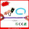 2015 nouveau câble d'USB de bracelet de la mode 24cm pour Samsung