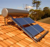 Pressurized Integrative Solar Hot Water Heater com Heat Pipe
