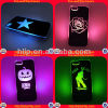 Fashioable New LED Mobile Phone Case, iPhone를 위한 LED Cell Phone Cases