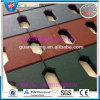 Mattonelle di gomma dell'Cane-Osso/stuoia di gomma pavimentazione di gomma per la strada della Camera