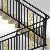 屋内鉄Raillingか階段柵または階段手すりまたはガラス階段柵