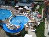 プール単一の開いた螺線形水スライド