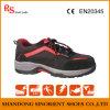 Tipo sapatas de segurança Sns710 do esporte do couro da camurça da vaca de China