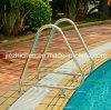 Acero inoxidable 304 Piscina al carril de la escalera Residencial piscina Barandilla