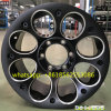 Черный филируя сплав колеса тележки 16*8j алюминиевый катит оправу 6*139.7