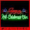 De LEIDENE Kleurrijke Brief van Kerstmis met Decoratieve Licht van de Vakantie van de Ster het Buitensporige