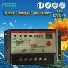 30A 40A 12V 24V Contrôleur LCD avec double batterie solaire