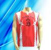 100% Polyester Man' S Sleeveless Basketball Wear