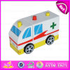 2015 DIY Mini Wooden Ambulance Toy Car, Ambulance Car Toy Vehicle per Children, Ambulance Toys More Design per You Choose W04A122