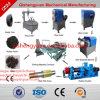 Máquina do triturador de Pneu de resíduos/planta de reciclagem de pneus/Cortador de Borracha