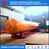El tanque de almacenaje del LPG, estación de servicio del patín de 20mt LPG, estación doble del patín del dispensador 20mt LPG de la boquilla