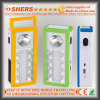 Lumière Emergency solaire portative de DEL avec 1W la lampe-torche, USB (SH-1904A)