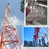 3La pierna de acero del tubo de radio de microondas de la torre de telecomunicaciones con el bajo precio